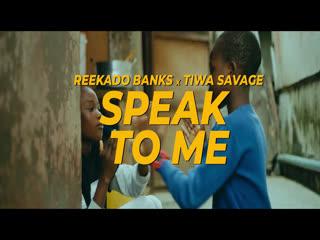 [VIDEO] Reekado Banks – Speak to Me ft. Tiwa Savage