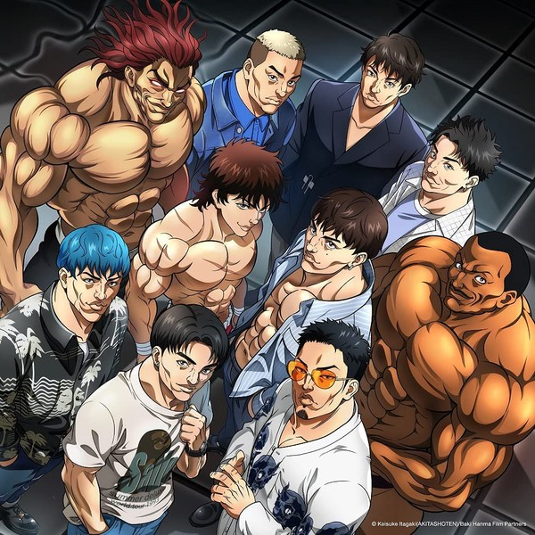 GENERATIONS from EXILE TRIBE Unchained World Opening Hanma Baki Son of Ogre